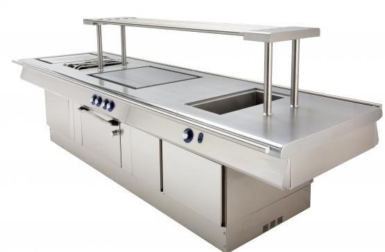 Bonnet, équipements de cuisson, Fours mixtes, pianos de cuisson, pianos d'exception Maestro by Bonnet, Compact Kitchen.