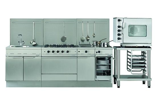 Ambassade de Bourgogne présente une gamme complète destinée aux établissements de restauration de petite et moyenne capacité (60 à 100 couverts), aux petites collectivités et aux traiteurs, (fourneaux, friteuses, grills, fours,etc...).