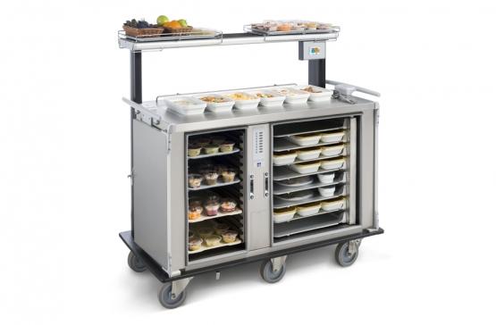 iseco transport, distribution, maintien et remise en température des plateaux individuels et plats collectifs